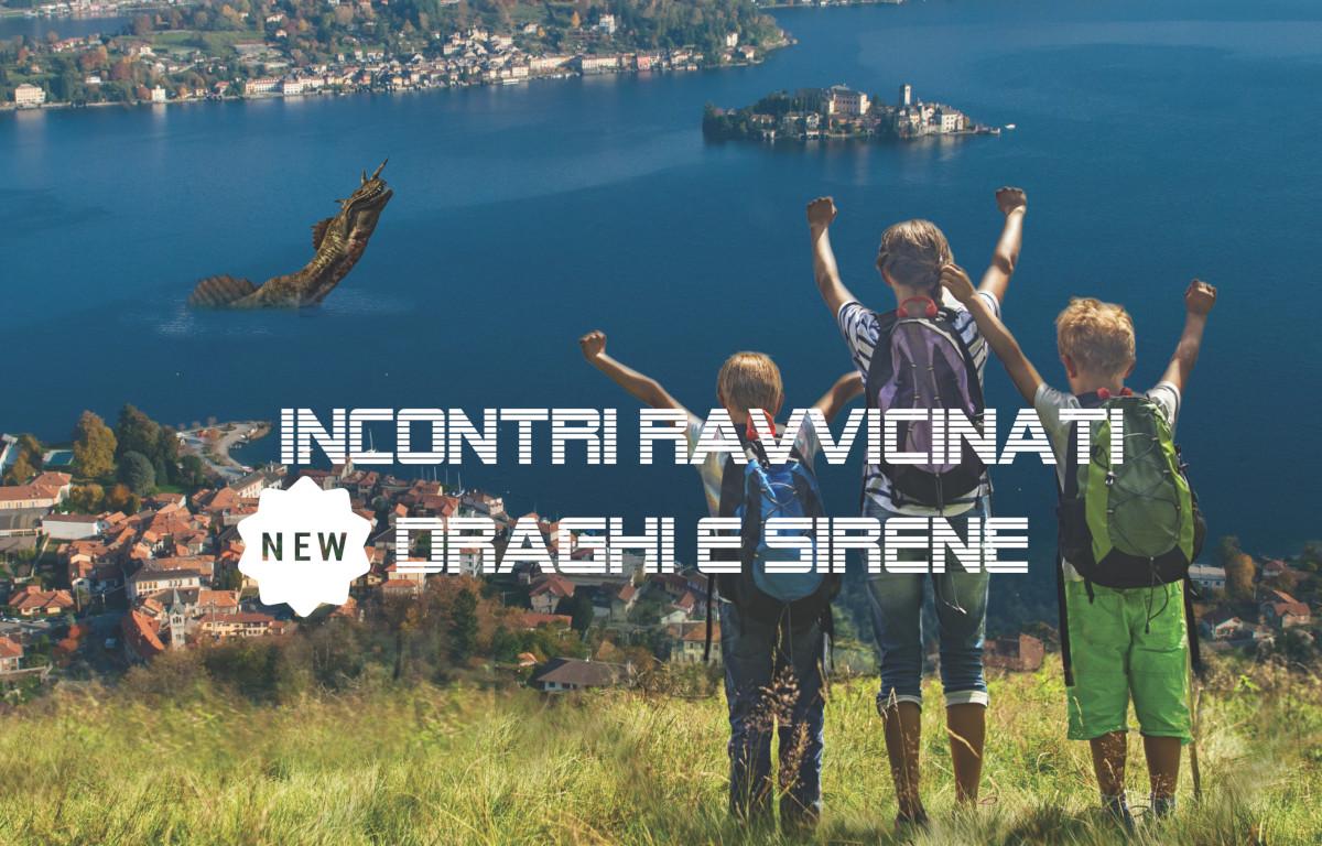 Avventura in motoscafo e incontri ravvicinati: draghi e sirene al Lago d'Orta!