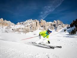 sciare con i bambini in val di fiemme