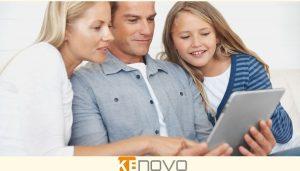 famiglia con device rigenerati