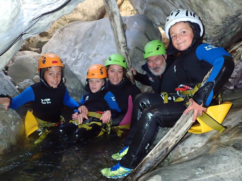 Canyoning Family-Fun sul lago di Garda