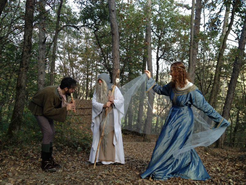 Vivi la magica fiaba di Merlino il Signore dell'immortalità a Gropparello!