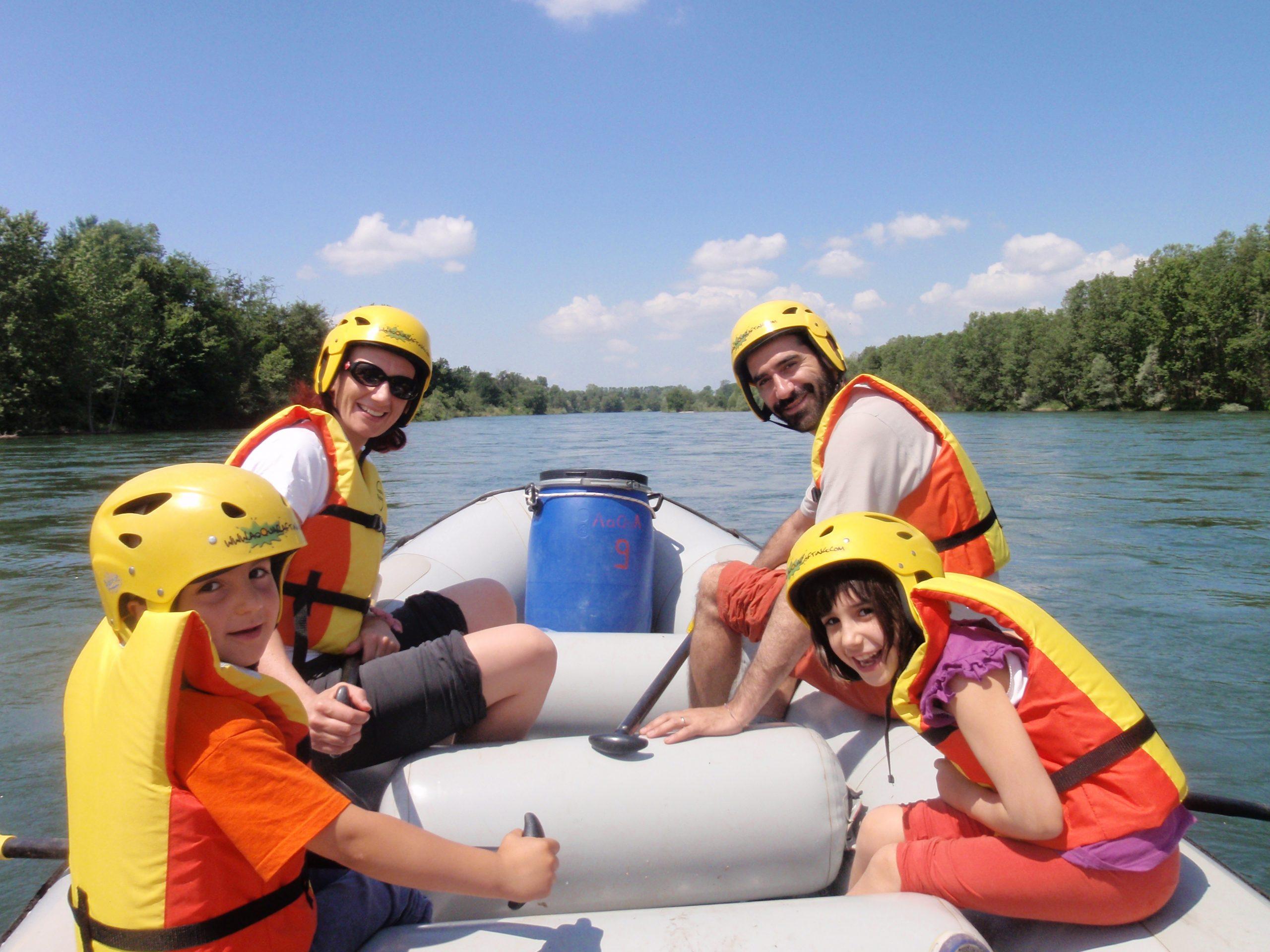 Natura e Libertà: Classic Rafting in Famiglia