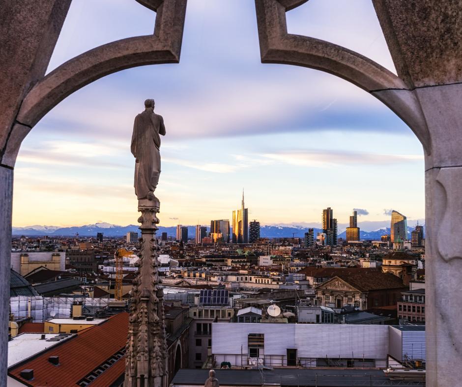 Visita per famiglie alle splendide terrazze del Duomo di Milano