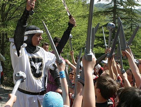 Cavalieri del Castello di Gropparello: il parco delle Fiabe!