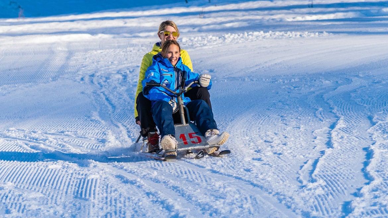 Una settimana family: La bianca Neve di Gennaio in Alpe Cimbra!
